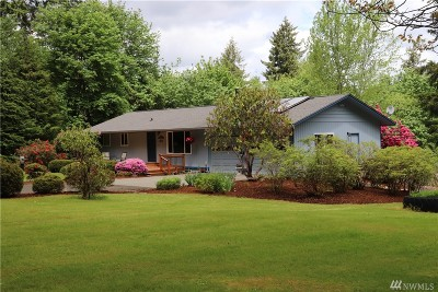 Shelton Single Family Home For Sale: 271 SE Mill Creek Ridge E