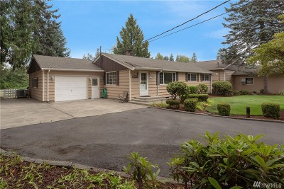 Puyallup Single Family Home For Sale: 5503 152nd St E