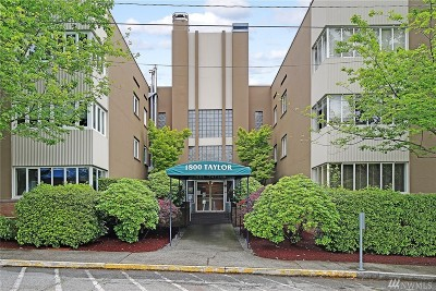 Seattle Condo/Townhouse For Sale: 1800 Taylor Ave N #9