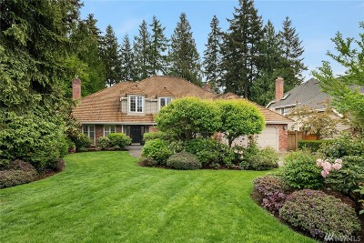 Sammamish Single Family Home For Sale: 2128 222nd Place NE
