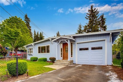 Kirkland Single Family Home For Sale: 12215 NE 73rd St