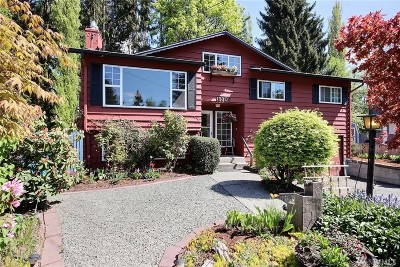 Shoreline Single Family Home For Sale: 15302 Corliss Place N