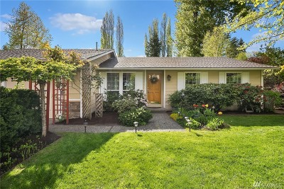 Kirkland Single Family Home For Sale: 14229 111th Ave NE
