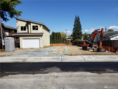 Burien Single Family Home For Sale: 14424 11th Ave SW #lot 1