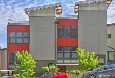 Tacoma Condo/Townhouse For Sale: 422 6th Ave