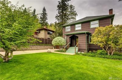 Bellingham Single Family Home Sold: 823 Mason St