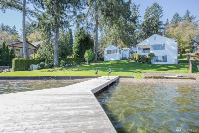 Lakewood Single Family Home For Sale: 10025 Lake Steilacoom Dr SW