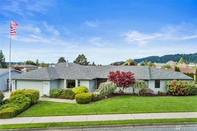 Sumner Single Family Home Contingent: 15819 67th St Ct E