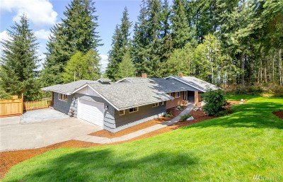 Issaquah Single Family Home For Sale: 17640 SE Cougar Mountain Dr