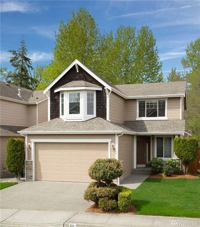 Renton Single Family Home For Sale: 611 Vashon Place NE