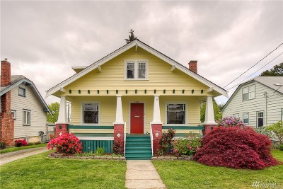 Single Family Home For Sale: 5426 S K St