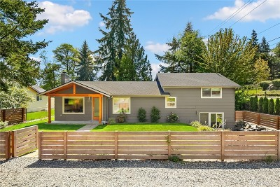 Shoreline Single Family Home For Sale: 2503 NE 147th St
