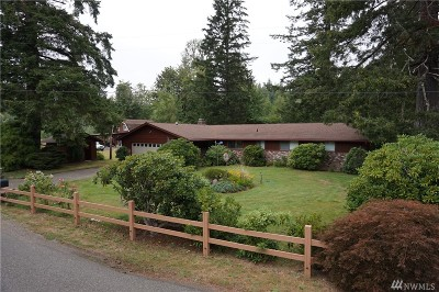 Shelton Single Family Home For Sale: 6170 W Skokomish Valley Rd
