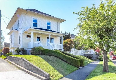 Tacoma Single Family Home For Sale: 1409 N Steele St