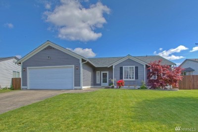 Spanaway Single Family Home For Sale: 21419 43rd Av Ct E