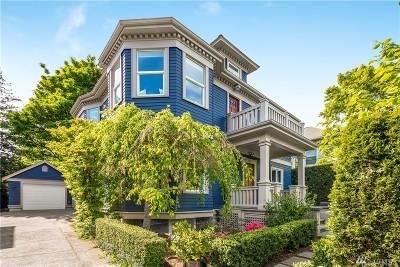 Seattle Single Family Home For Sale: 521 Malden Ave E
