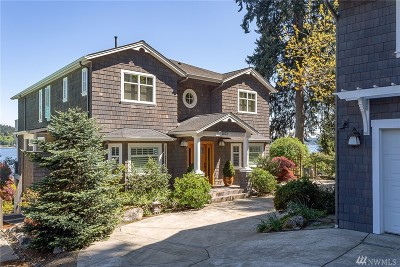 Bremerton Single Family Home For Sale: 4972 Illahee Rd NE