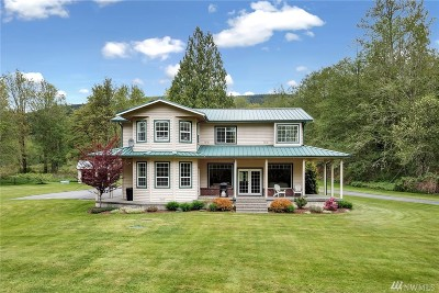 Sedro Woolley Single Family Home Contingent: 20737 Echo Hill Rd