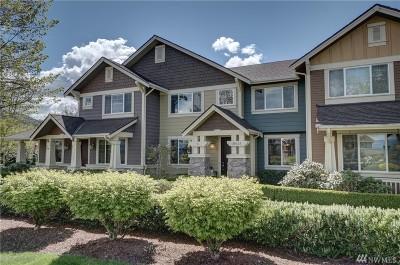 Snoqualmie Condo/Townhouse For Sale: 34623 SE Jeffs St
