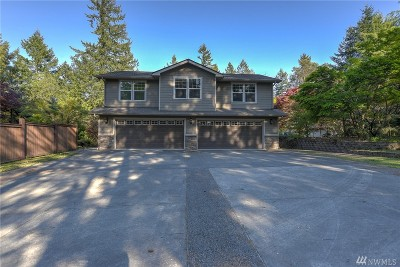 Lacey Single Family Home For Sale: 4110 Meridian Rd NE