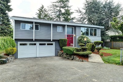 Shoreline Single Family Home For Sale: 17540 Fremont Ave N