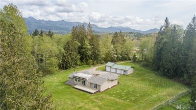 Skagit County Single Family Home For Sale: 24331 Gunderson Ridge Dr