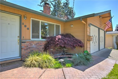 Bellevue Single Family Home For Sale: 126 153rd Place SE