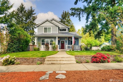 Tacoma Single Family Home For Sale: 5019 N 10th St