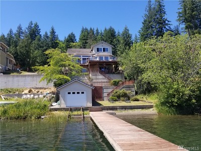 Olympia Single Family Home Pending: 2339 Summit Lake Shore Rd NW