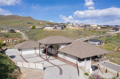 Chelan County Single Family Home For Sale: 4096 Knowles Rd