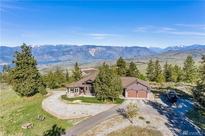 Chelan County Single Family Home For Sale: 30 Windy Ridge Lane