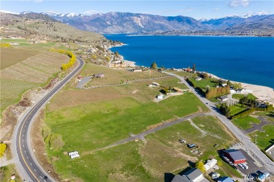 Chelan, Chelan Falls, Entiat, Manson, Brewster, Bridgeport, Orondo Residential Lots & Land For Sale: 177 S Lakeshore Rd