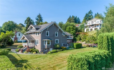 Gig Harbor Single Family Home For Sale: 8112 Stinson Ave