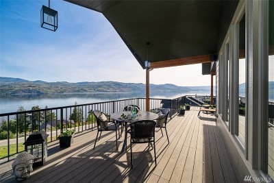 Chelan County Single Family Home For Sale: 191 Grandview Ln