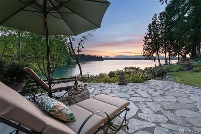 Bainbridge Island Single Family Home For Sale: 6801 NE Bergman Rd