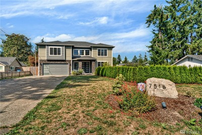 Puyallup Single Family Home For Sale: 7515 124th St E