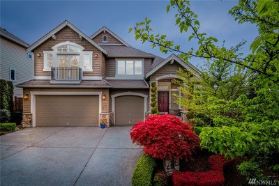 Sammamish Single Family Home For Sale: 21421 3rd Place