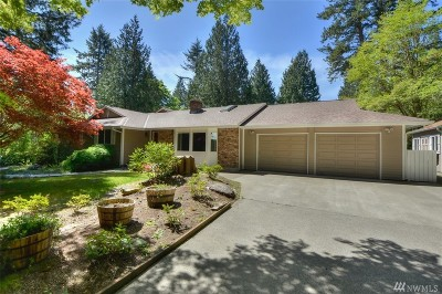 Olympia Single Family Home For Sale: 6947 Marvin Rd