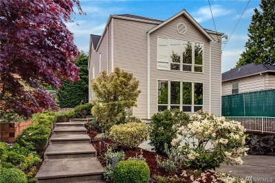 Seattle Single Family Home For Sale: 2452 6th Ave W