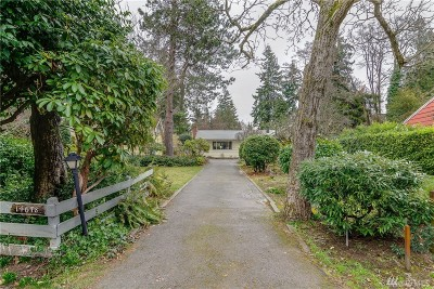 Burien Single Family Home For Sale: 14678 22nd Ave SW