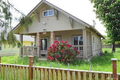 Centralia Single Family Home For Sale: 1211 Ward St