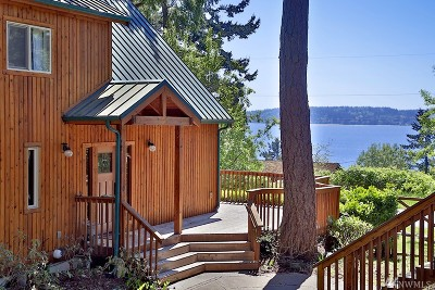 Langley Single Family Home Pending: 3411 Harbor View Dr