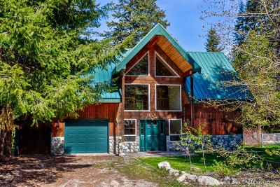 Chelan County Single Family Home For Sale: 2110 Chiwawa Loop Rd