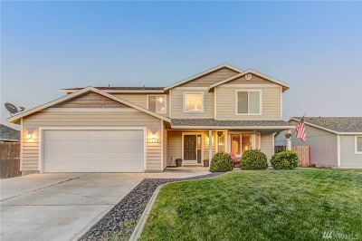 Moses Lake Single Family Home For Sale: 1909 S Dilley Ave