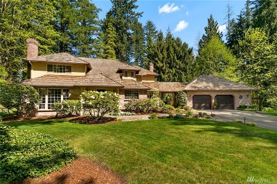 Woodinville Single Family Home For Sale: 14640 191st Ave NE