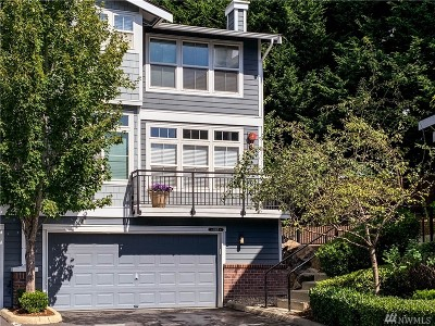 Kirkland Condo/Townhouse For Sale: 8914 123rd Lane NE