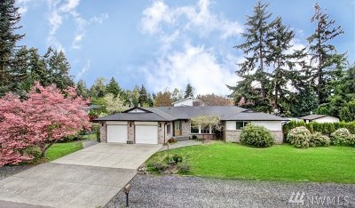 Puyallup Single Family Home For Sale: 14807 Westmore Dr E