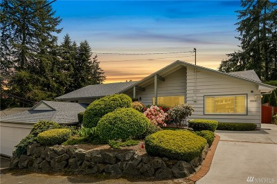 Shoreline Single Family Home For Sale: 1333 N 171st St
