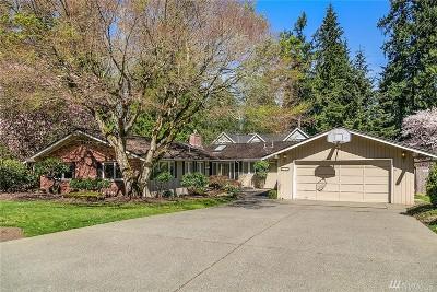Mercer Island Single Family Home For Sale: 8454 SE 63rd St
