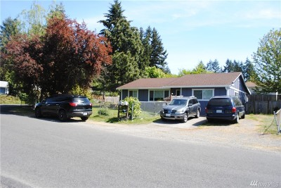 Spanaway Single Family Home For Sale: 17001 5th Av Ct E